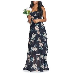 SHOW ME YOUR MUMU Calypso Strappy Tier Maxi Dress